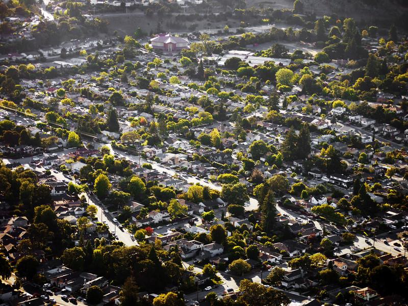 Brittan Oaks neighborhood, San Carlos, CA.