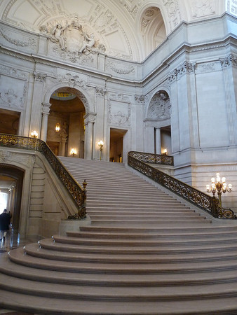 Inside San Francisco City Hall