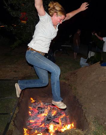 Jennifer had to jump it. Had to.