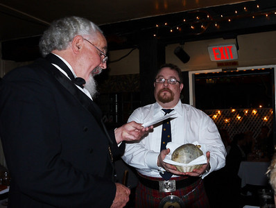 "A recitation of Robert Burns ""Address to a Haggis"""