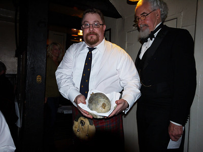 Our introduction to the haggis