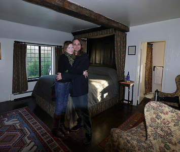 Julie & Patrick in their room
