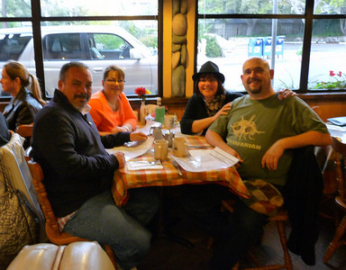 Mike, Amy, Phyl & Craig