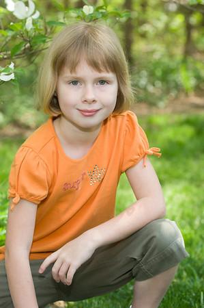 Lauren Backyard Portrait