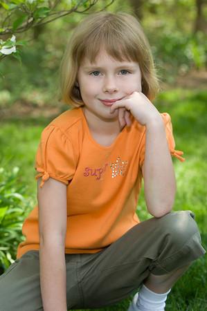 Lauren Backyard Portrait 01