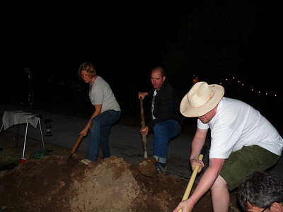 Bury it up! Approx 3 AM