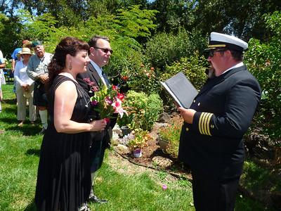 The ceremony proceeds