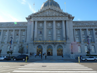 The San Francisco City Hall