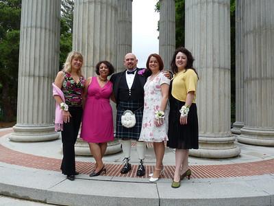 Nancy, Aziza, Julie & Deb