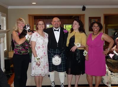 Nancy, Julie, Craig, Deb & Aziza