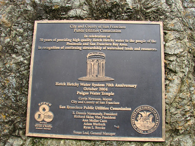 Plaque at the Water Temple