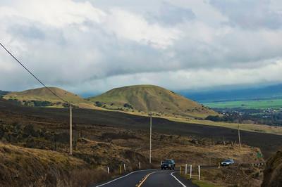 Hawaiian cattle country. Doesn't look like, Hawaii, does it?