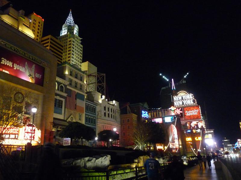 New York, New York & Las Vegas Blvd