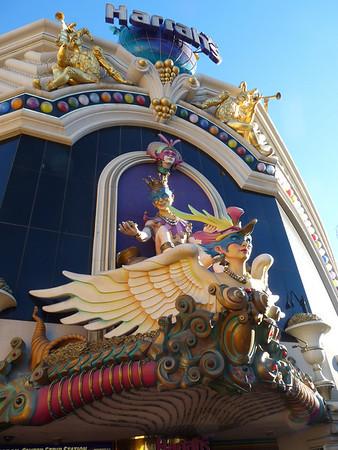 Harrah's Casino facade, Las vegas