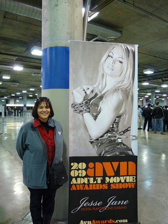 Phyllis & the AVN Awards poster