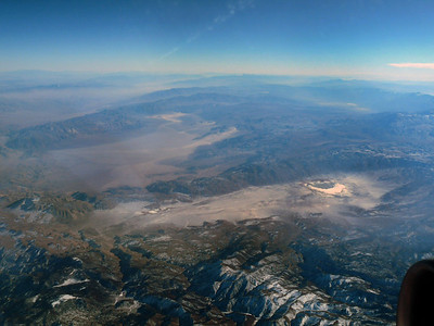 Kings Canyon National Park from the air
