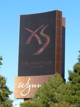 Moving Wynn Esplanade sign