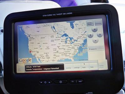 "Virgin America ""Red"" infotainment"