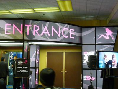 Outside the AVN expo