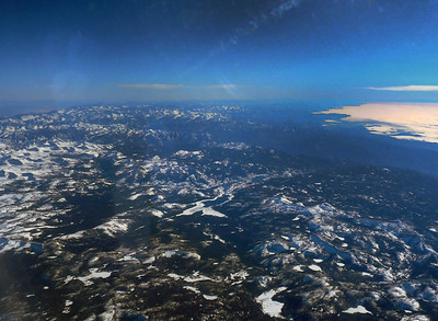 Sequoia National Park from the air