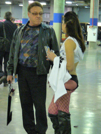 Outside the AVN expo