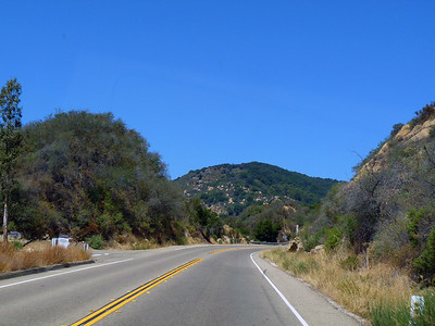 San Marcos Pass Rd, CA Hwy 154