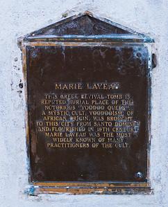 Voodoo Queen Marie Laveau's tomb