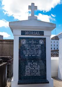 """Mayor Ernest """"Dutch"""" Morial's tomb"""