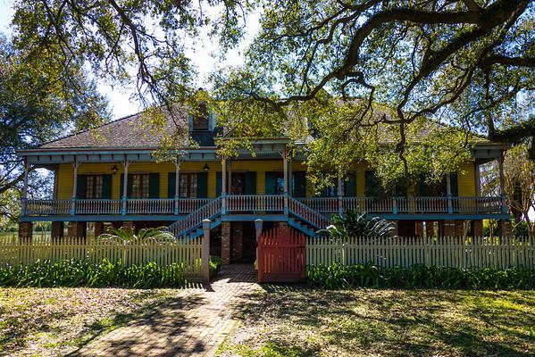 Creole plantation house