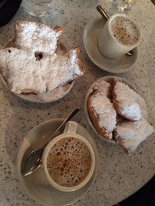 Beignet's at Cafe Du Monde