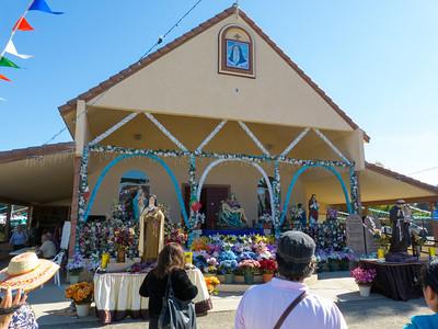 "The ""Our Lady of Fatima"" church in Thorton, CA."