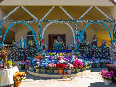 "The ""Our Lady of Fatima"" church in Thorton, CA."
