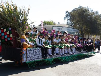 "Annual Portuguese ""Our Lady of Fatima"" Celebration parade in Thorton, CA."
