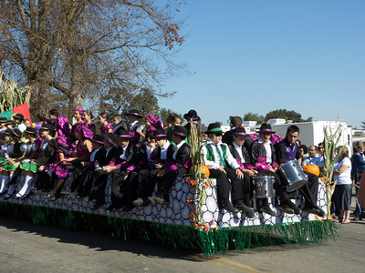 "Annual Portuguese ""Our Lady of Fatima"" Celebration parade in Thorton, CA."