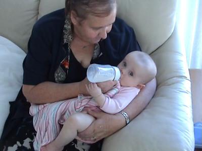11/3/2009 - Nana feeding Ryiah