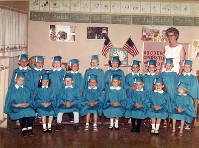 Tom Tom's Kindergarten 1965 graduation group photo