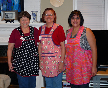 Old fashioned handmade aprons
