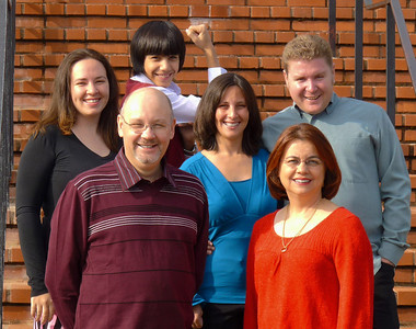 Thanksgiving Family Group Shot