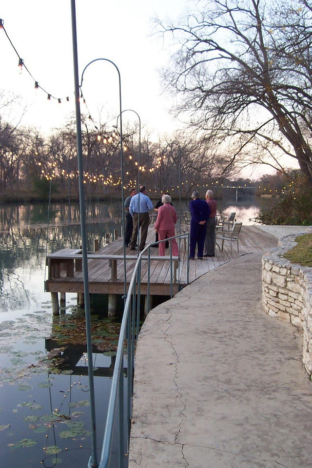 Along the Guadalupe River.<br /> Jenna's graduation party at Nolte Farm in Seguin, TX.