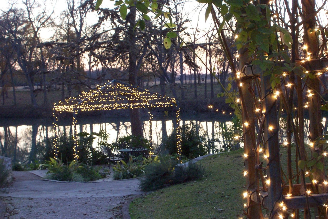 The grounds along the Guadalupe River.<br /> Jenna's graduation party at Nolte Farm in Seguin, TX.
