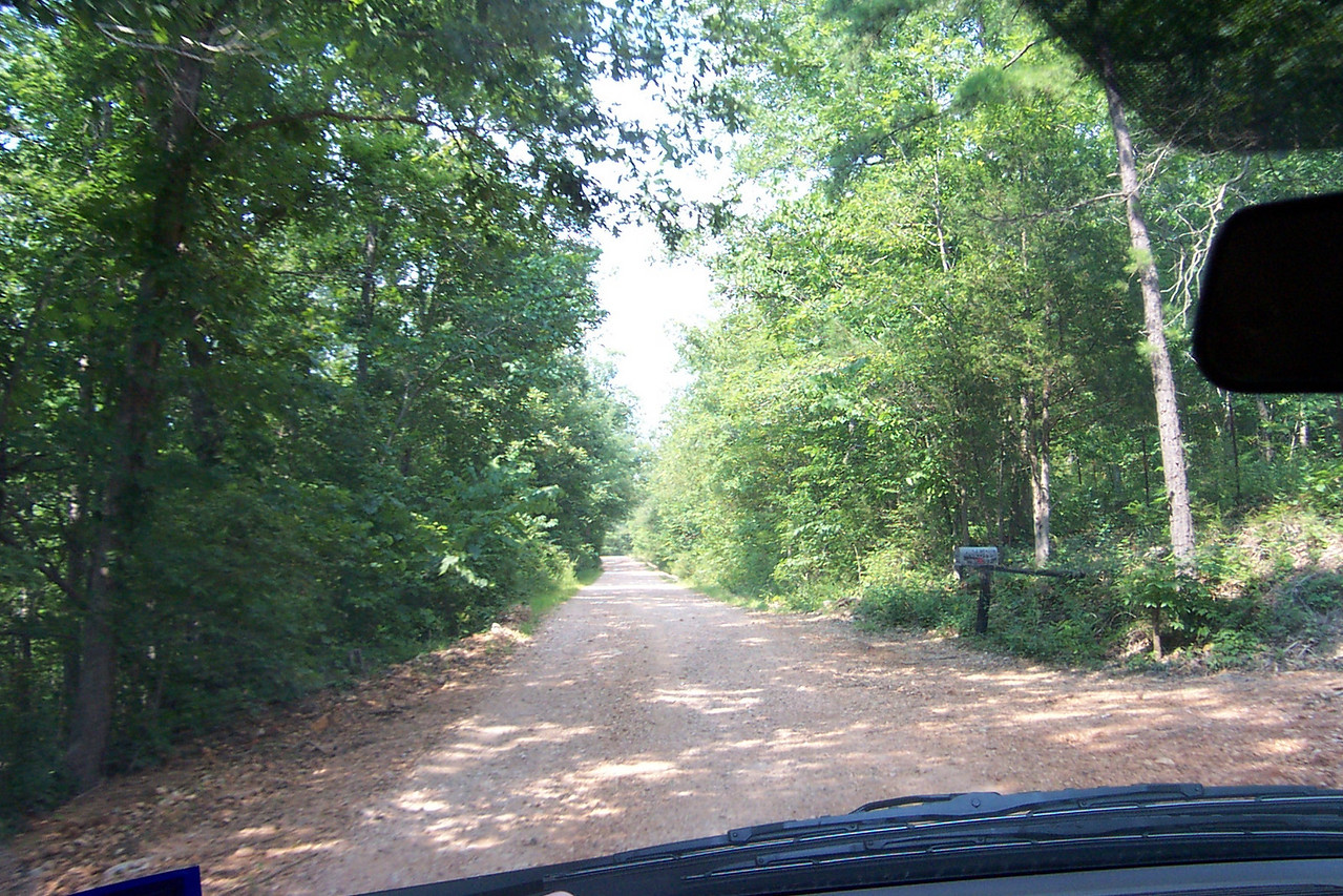 We continued on and on over the gravel roads.  You could only go about 20 or 25 miles an hour.