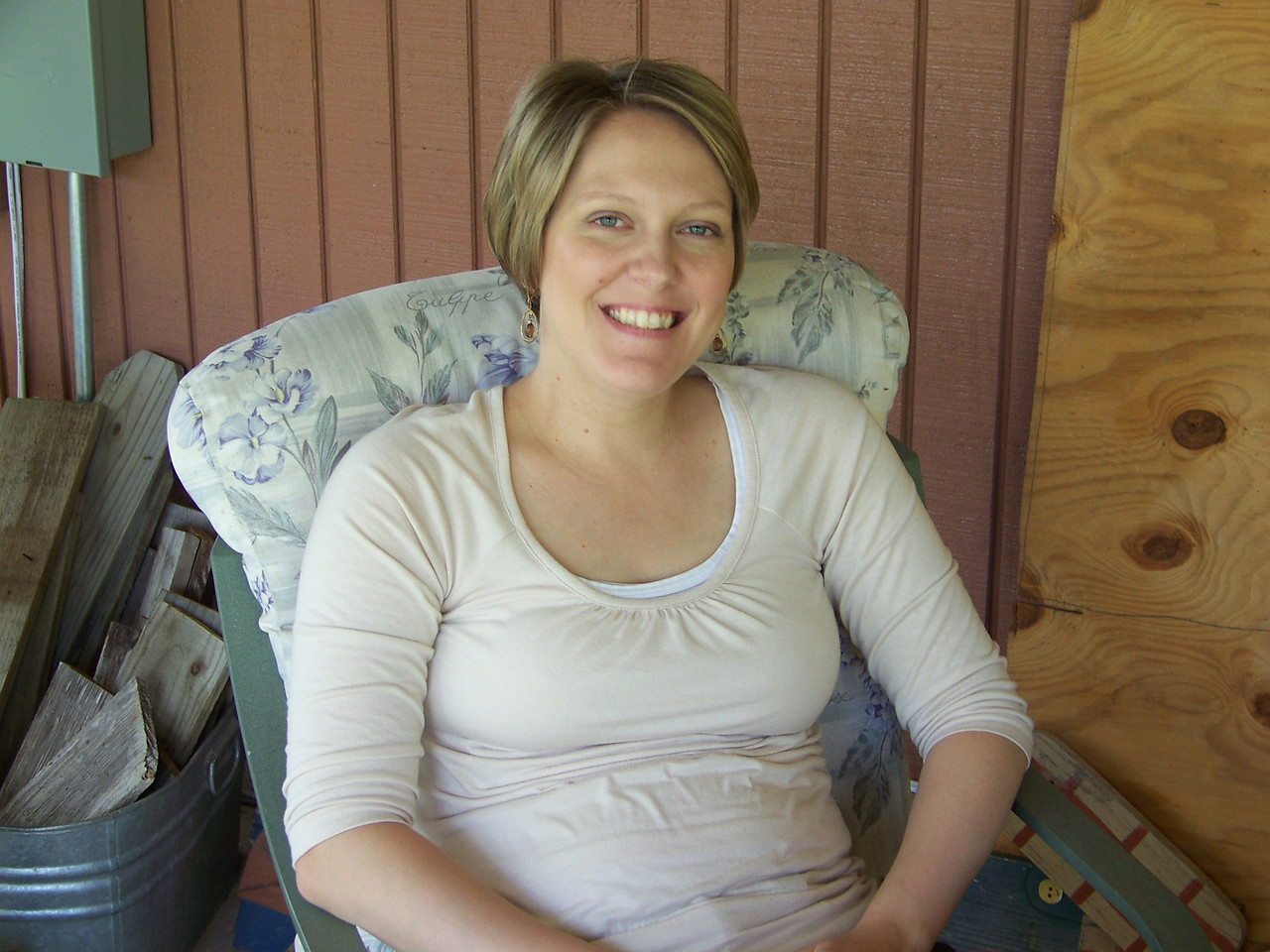 Josh's wife (and Jack & Embyr's mom) Kalyn.
