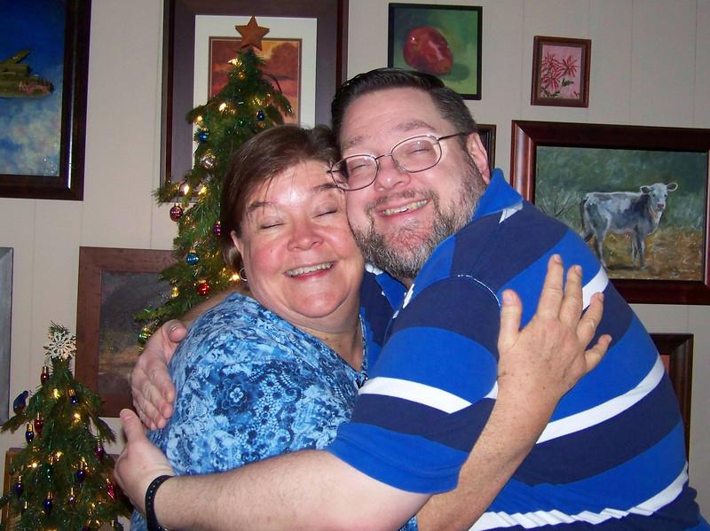 Wendy and Jon at Sheri's house.