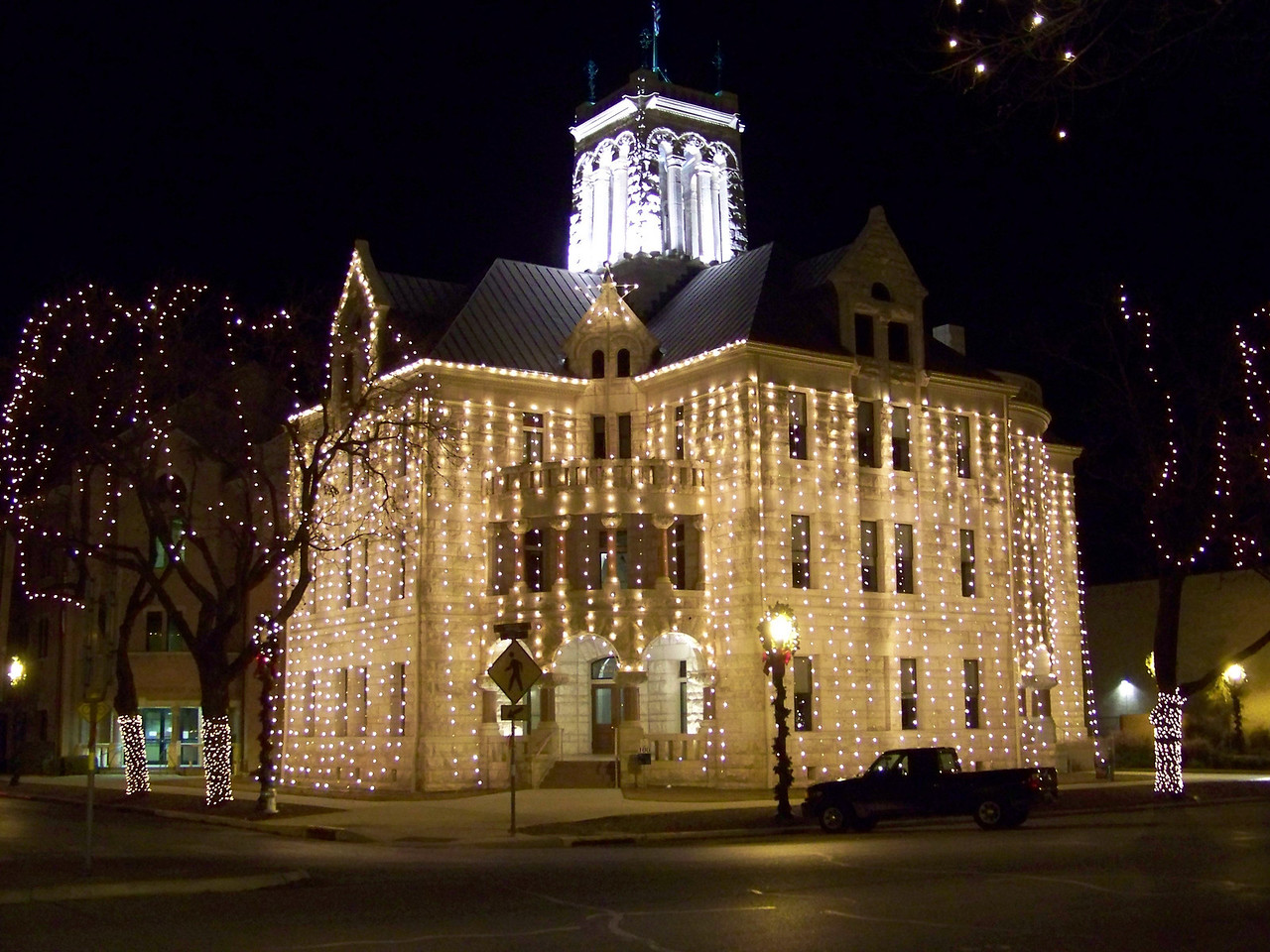 "The ""Romanesque Revival"" Comal County Courthouse was built in 1898.  The limestone used for the building was quarried on land owned by my Great Grandfather."