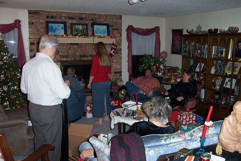 Christmas Eve at Mom & Dad's house.