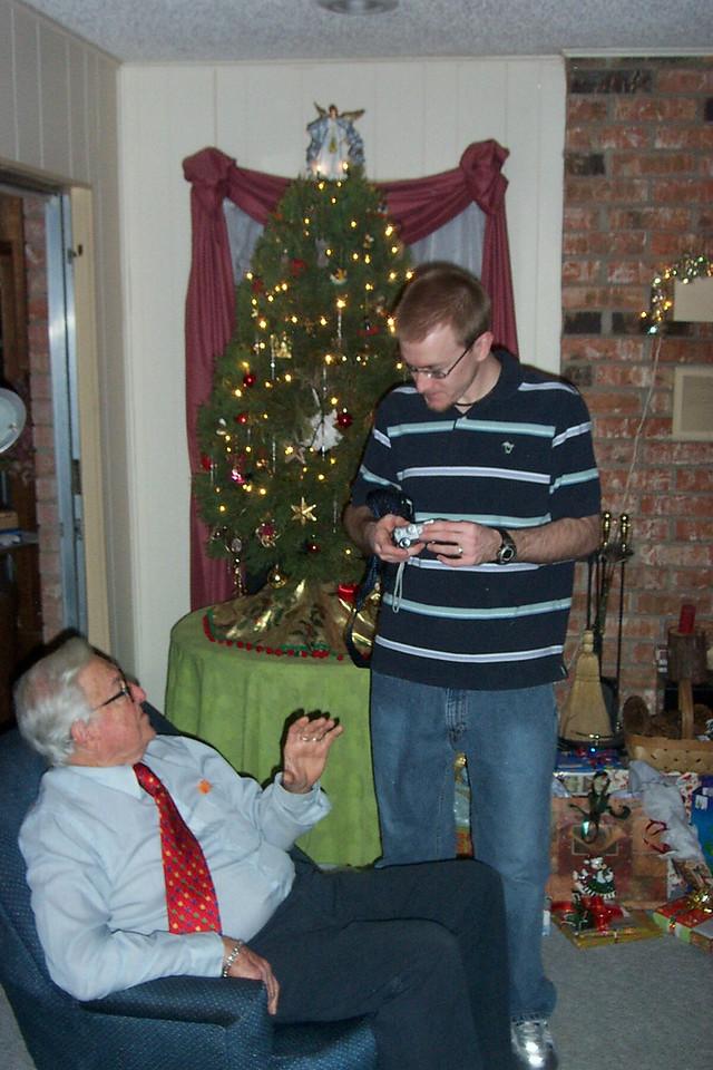 Josh and Grandpa.