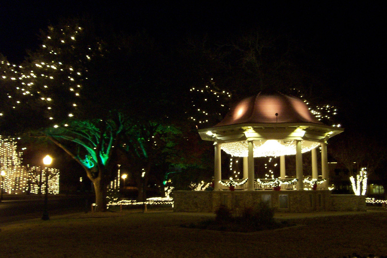 This bandstand is one of its main features, and it's become a symbol of the city.