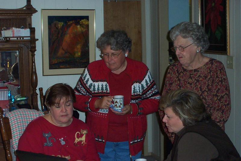 Wendy, Gayle, Grace, and Susan.