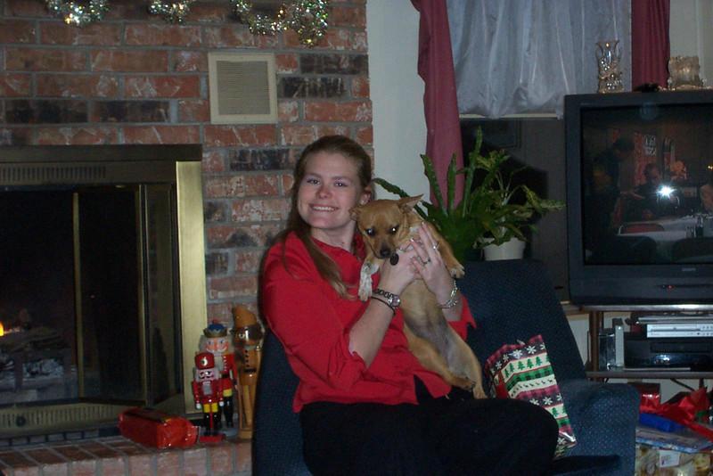 Jenna & Roxy (her baby!)