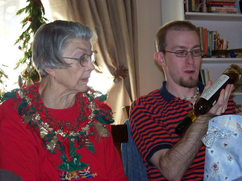 Mom and Josh